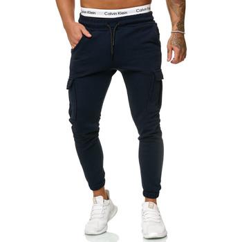 Vêtements Homme Pantalons de survêtement Cabin Pantalon jogging homme Jogging R-1213 bleu marine Bleu