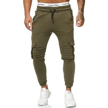 Vêtements Homme Pantalons de survêtement Cabin Jogging homme treillis Jogging R-1214 vert Vert