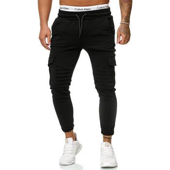 Vêtements Homme Pantalons de survêtement Cabin Jogging fashion pour homme Jogging R-1214 noir Noir