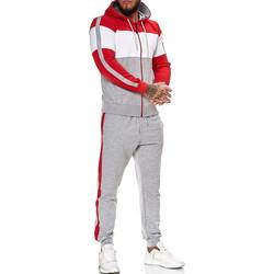 Vêtements Homme Ensembles de survêtement Monsieurmode Survêtement fashion homme Survêt R-1082 gris Gris