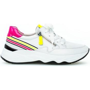 Chaussures Femme Baskets basses Gabor Baskets cuir lisse Multicolore