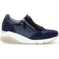 Chaussures Femme Baskets basses Gabor Basket textile Bleu