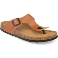 Chaussures Homme Tongs Silvian Heach M-152 Camel