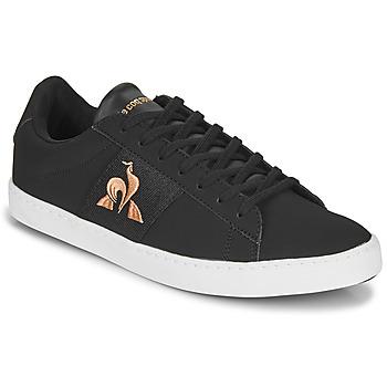 Chaussures Femme Baskets basses Le Coq Sportif ELSA Noir / Rose