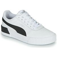 Chaussures Femme Baskets basses Puma CARINA Blanc / Noir