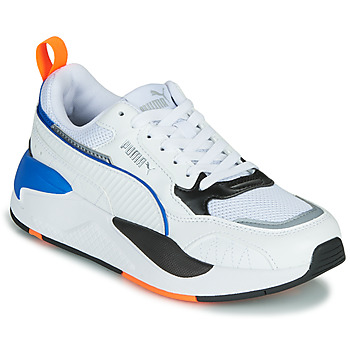 Chaussures Enfant Baskets basses Puma X-RAY Blanc / Bleu / Noir