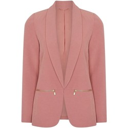 Vêtements Femme Vestes / Blazers Anastasia Veste Blazer  Femme Rose Edge to Edge Pink