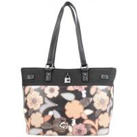 Sacs Femme Cabas / Sacs shopping Mac Alyster Sac shopping  Fragrance noir motif fleur Noir