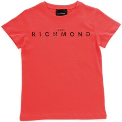 Vêtements Fille T-shirts manches courtes John Richmond RGP20198TS Rouge