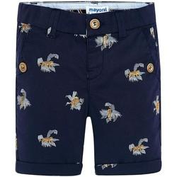Vêtements Fille Shorts / Bermudas Mayoral Bermuda estampado tigres Tinta blue