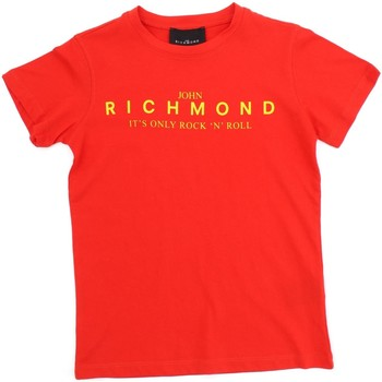 Vêtements Enfant T-shirts manches courtes Richmond Kids RBP20069TS Rouge