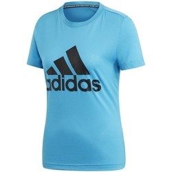 Vêtements Femme T-shirts manches courtes adidas Originals Must Haves Bos Tee Bleu
