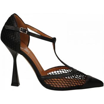 Chaussures Femme Escarpins Mivida CHIFFON+RETE nero