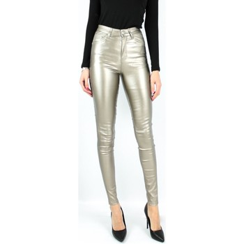 Vêtements Femme Chinos / Carrots Kebello Jeans Synthétique Push Up F Gold Gold