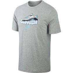 Vêtements Homme T-shirts manches courtes Nike - T-Shirt Air Max 90 - CV0071 Gris