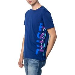 Vêtements Homme T-shirts manches courtes Roberto Cavalli S03GC0530 bleu
