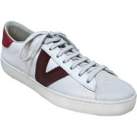 Chaussures Femme Baskets basses Victoria 126142 Blanc/rouge
