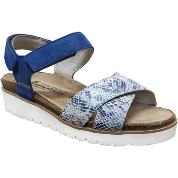 Chaussures Femme Sandales et Nu-pieds Mobils By Mephisto Tamia Bleu