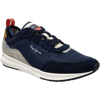 Chaussures Homme Baskets basses Pepe jeans N22 summer Marine Toile