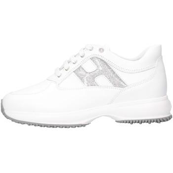 Chaussures Fille Baskets basses Hogan HXC00N0O241NM40351 blanc
