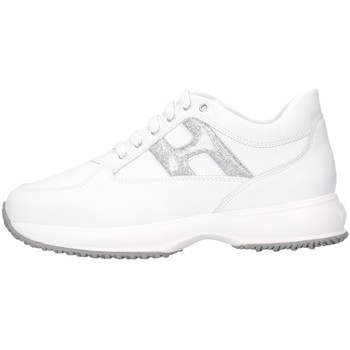 Chaussures Fille Baskets basses Hogan HXR00N0O241NM40351 blanc