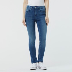 Vêtements Femme Jeans slim Lee Cooper Jean LC135 8538 ECO Recycled Blue Brushed Bleu
