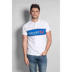 Vêtements Homme T-shirts manches courtes Deeluxe Polo SQUADS White