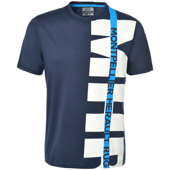 Vêtements Homme T-shirts manches courtes Kappa OFANTO MONTPELLIER HÉRAULT RUGBY Navy