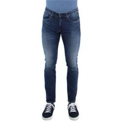 Vêtements Homme Shorts / Bermudas Tommy Jeans Jean  ref_47988 Bleu bleu