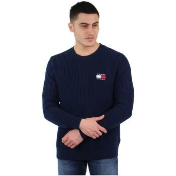 Vêtements Homme Pulls Tommy Jeans Pull Tommy Hilfiger ref_48174 Bleu Bleu