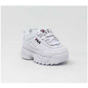 Chaussures Baskets basses Fila DISRUPTOR KIDS LOW BLANC Blanc
