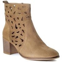 Chaussures Femme Bottines Funny Lola 3650 Marron