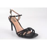 Chaussures Femme Sandales et Nu-pieds Bienve Cérémonie dame  1JB-0136 noir Noir