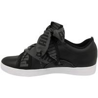 Chaussures Femme Baskets basses Puma Baskets SMASH BUCKLE BOLD noir