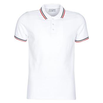 Vêtements Homme Polos manches courtes Casual Attitude M.BOUPI Blanc