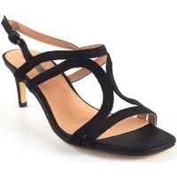 Chaussures Femme Sandales et Nu-pieds Bienve Cérémonie dame  1SL-0108 noir Noir