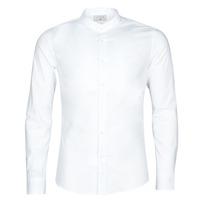 Vêtements Homme Chemises manches longues Casual Attitude MASS Blanc