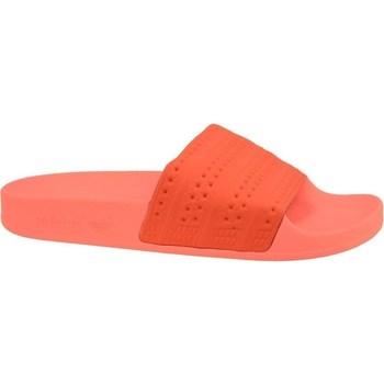 Chaussures Homme Claquettes adidas Originals Adilette Rouge,Orange