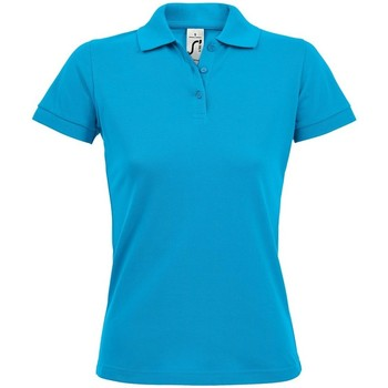 Vêtements Femme Polos manches courtes Sols Prime Bleu