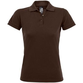 Vêtements Femme Polos manches courtes Sols Prime Marron