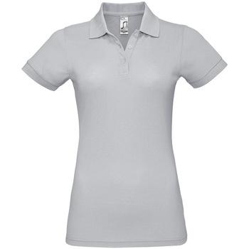 Vêtements Femme Polos manches courtes Sols Prime Gris