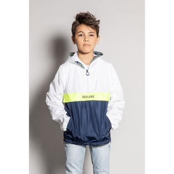 Vêtements Garçon Blousons Deeluxe Veste CHILD White