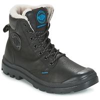 Chaussures Homme Boots Palladium PAMPA SPORT WPS Noir