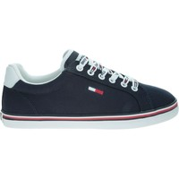 Chaussures Femme Baskets basses Tommy Hilfiger Essential Lace UP Bleu marine