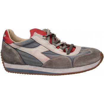 Chaussures Homme Baskets basses Diadora EQUIPE H DIRTY STONE WASH EVO 60125-blu-mare-bering