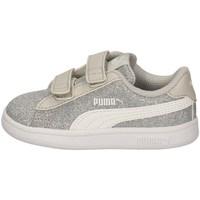 Chaussures Fille Baskets basses Puma 367380-17 ARGENT