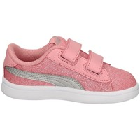 Chaussures Fille Baskets basses Puma 367380-15 ROSA