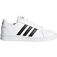 Chaussures Homme Baskets basses adidas Originals Grand Court K Blanc,Noir