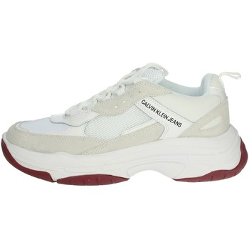 Chaussures Homme Baskets basses Calvin Klein Jeans S1770 Blanc
