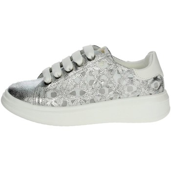 Chaussures Fille Baskets basses Asso AG-5407 Argent